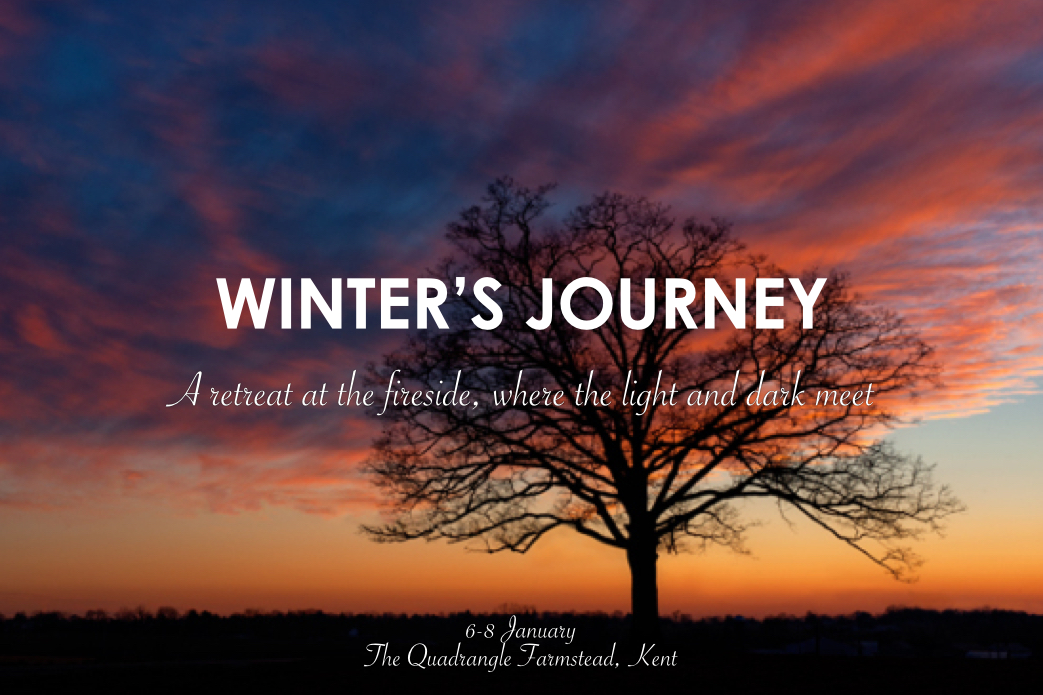 Winter's Journey: A Yoga, Ayurvedic Massage and Nature Retreat at the Quadrangle Farmstead in Kent, from Friday 6 to Sunday 8 January 2017